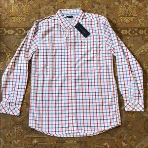 Tommy Hilfiger boys checkered button down shirt